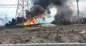 У Таїланді вибухнув газопровід, є загиблі: моторошні фото та відео