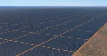 Буде видно з космосу: найбільшу у світі сонячну електростанцію збудують в Австралії