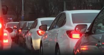 Пробки в Киеве: где не проехать 23 октября