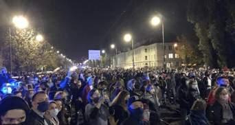 У Польщі розігнали протест проти посилення заборони абортів: фото, відео