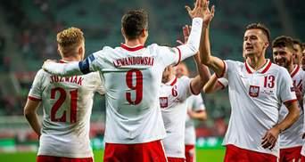 Збірна Польщі оголосила склад на товариський матч проти України