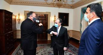 Глави МЗС Вірменії та Азербайджану обговорили ситуацію в Нагірному Карабасі з держсекретарем США