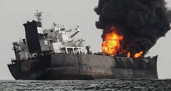 Потужний вибух на російському танкері в Азовському морі: безвісти зникли троє людей