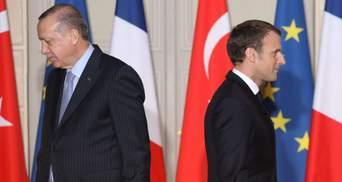 Опасная спираль конфронтации: В Евросоюзе отреагировали на скандал между Эрдоганом и Макроном