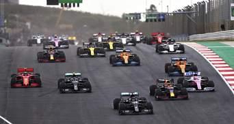 Формула-1: Хэмилтон выиграл гран-при Португалии и побил рекорд Шумахера, Леклер – 4-й