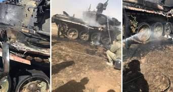 """Масштабні навчання """"Кавказ-2020"""": російський танк підбили, постраждав командир"""