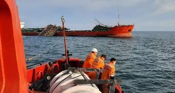Авария российского танкера в Азовском море: нашли тела членов экипажа