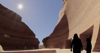 Підземний курорт: в Саудівській Аравії побудують фешенебельний готель під пустелею – фото