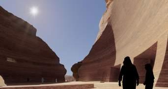 Подземный курорт: в Саудовской Аравии построят фешенебельный отель под пустыней – фото
