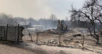 300 тысяч гривен: семьи, пострадавшие от пожаров на Житомирщине, получили компенсации