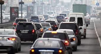 Пробки в Киеве утром 30 октября