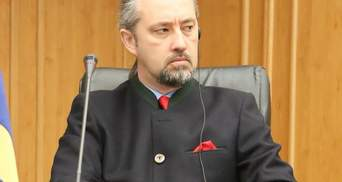 Суддя КСУ Сліденко про своє звільнення: заяву написав після тиску з боку Офісу Президента