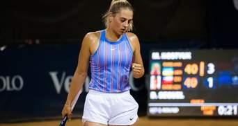 Костюк с рекордом в рейтинге WTA вышла в финал турнира в США