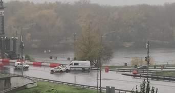 У Києві повідомили про мінування мосту Патона: що відомо