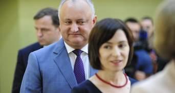 Президентские выборы в Молдове: Игорь Додон и Майя Санду борются за кресло главы государства