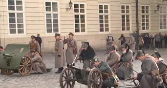 Во Львове воссоздали бои более чем 100-летней давности: фото
