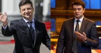 """Зеленський чи Разумков: який законопроєкт через рішення КСУ підтримають нардепи """"Голосу"""""""