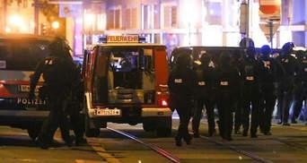 Діяли кілька злочинців із гвинтівками, – поліція Відня відреагувала на жахливий теракт