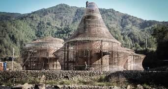 Как рыба в сетке: в Китае построили экологические хостелы странной формы – фото