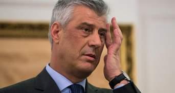 Президент Косово Тачи подал в отставку: причина