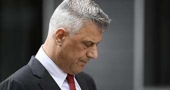 В Гааге взяли под стражу президента Косово Хашима Тачи