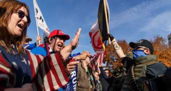 Еще 4 года: сторонники Трампа проводят акции протеста в США – фото, видео