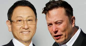 Tesla торгуют рецептами, а не блюдами, – глава Toyota резко высказался о компании Маска