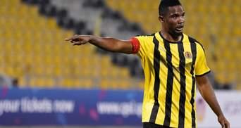 """Колишній гравець """"Барселони"""" Ето'О потрапив у жахливу ДТП в Камеруні: фото"""