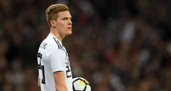 Двоє захисників збірної Німеччини травмувалися перед матчем з Україною