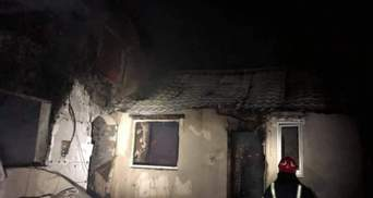 На Львовщине случился сокрушительный пожар: жилой дом сгорел дотла – фото
