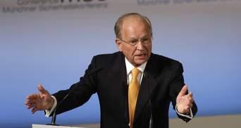 Мінські угоди – не Біблія, – президент Мюнхенської конференції закликав їх змінити
