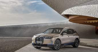 """500 """"конячок"""" і 5G-модем: BMW представила електрокросовер iX"""