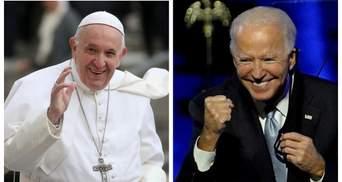 Папа Римський благословив Джозефа Байдена