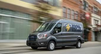 Популярный фургон Ford Transit получил электрическую версию