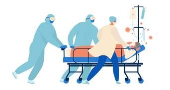 Дорожные больницы Укрзализныци начнут принимать больных COVID-19