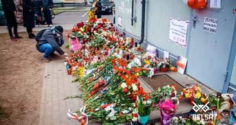 Комунальники у Білорусі розбирають меморіал загиблому активісту Бондаренку