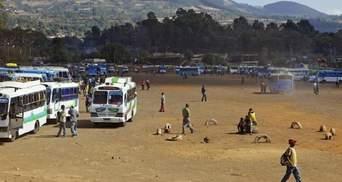 В Ефіопії бойовики атакували пасажирський автобус: загинули понад 30 людей
