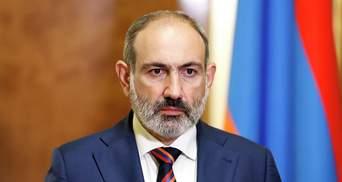 Прем'єр Вірменії Пашинян вважає себе головним відповідальним за ситуацію у Карабасі