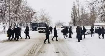 У квартирах – 14 – 15 градусів: на Харківщині люди перекрили дорогу через відсутність опалення