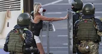 Вагітній у Білорусі дали 25 діб арешту за участь в протесті