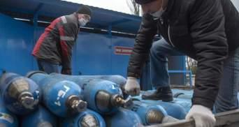 ММКИ поставляет в больницы Мариуполя кислород для пациентов с коронавирусом