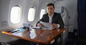 На самолете Зеленского установят интернет за 32 миллиона гривен