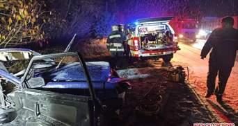 Влетіли у вантажівку: на Житомирщині в жахливій ДТП загинули 2 чоловіків – фото
