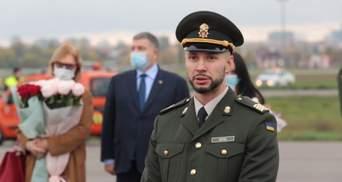 Віталій Марків відновив службу в батальйоні імені Кульчицького