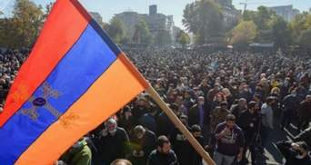 Протестный автопробег в Ереване: силовики жестко разогнали митингующих видео