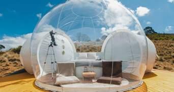 """Відпочинок у """"бульбашці"""": що таке баббл-готелі та де їх шукати – чарівні фото"""