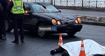 """Відірвало голову: у Харкові водій """"євробляхи"""" на шаленій швидкості збив чоловіка – відео 18+"""