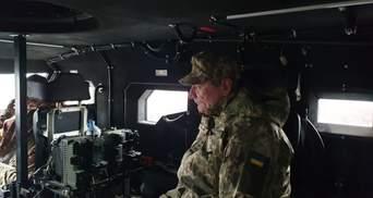 Вооружение и военная техника нуждаются в обновлении – Уруский после визита в зону ООС
