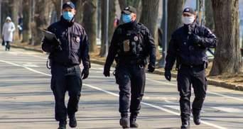 Скільки українських правоохоронців підхопило коронавірус: дані МВС
