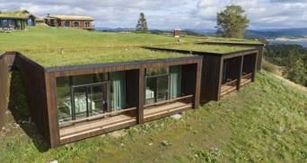 Хюґно та екологічно: У Норвегії збудували готельний комплекс на фйорді – фото та деталі